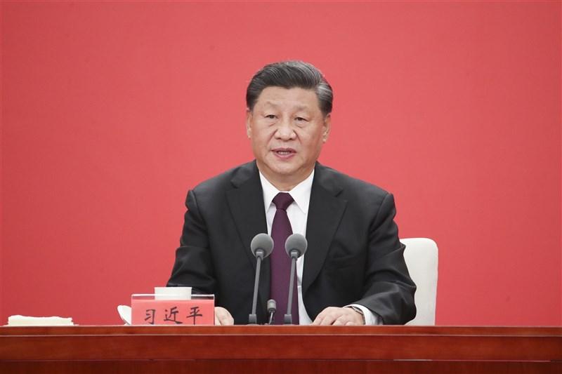 中共五中全會29日閉幕,會中審議了「2035年遠景目標」的建議。外界則再度因此而議論中國領導人習近平長期執政的可能性。(中新社)