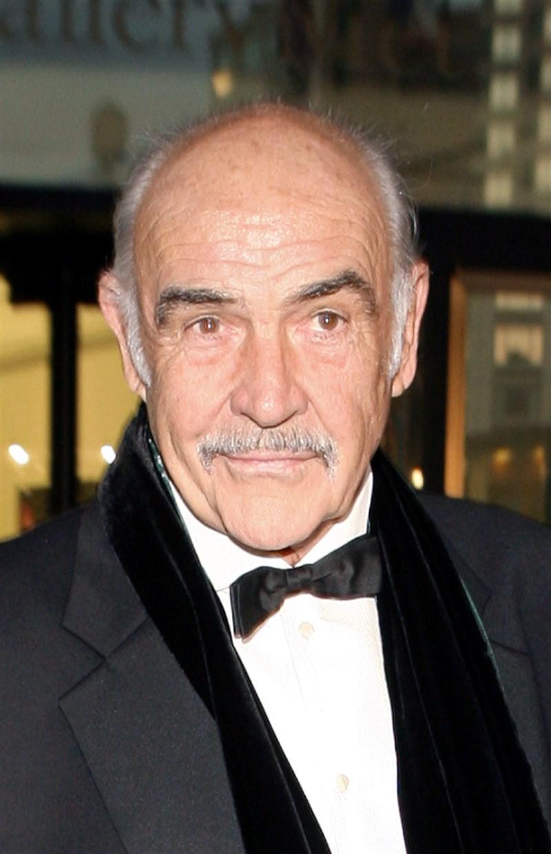 英國老牌演員史恩康納萊過世,享耆壽90歲。他生前以飾演007情報員詹姆士龐德的電影聞名於世。(美聯社)