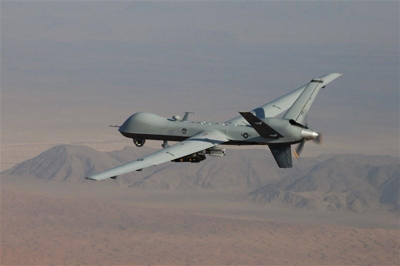 美國國務院3日宣布,美國同意出售台灣4架MQ-9無人機,金額約171億台幣。圖為美軍同型機。(圖取自美國空軍網頁www.af.mil)