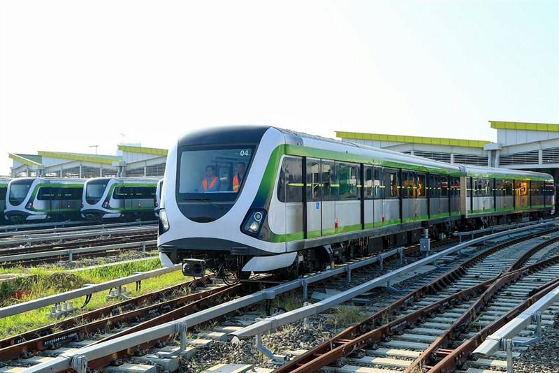 台中捷運綠線完成履勘後,交通部6日發布營運許可函。(台中市政府提供)