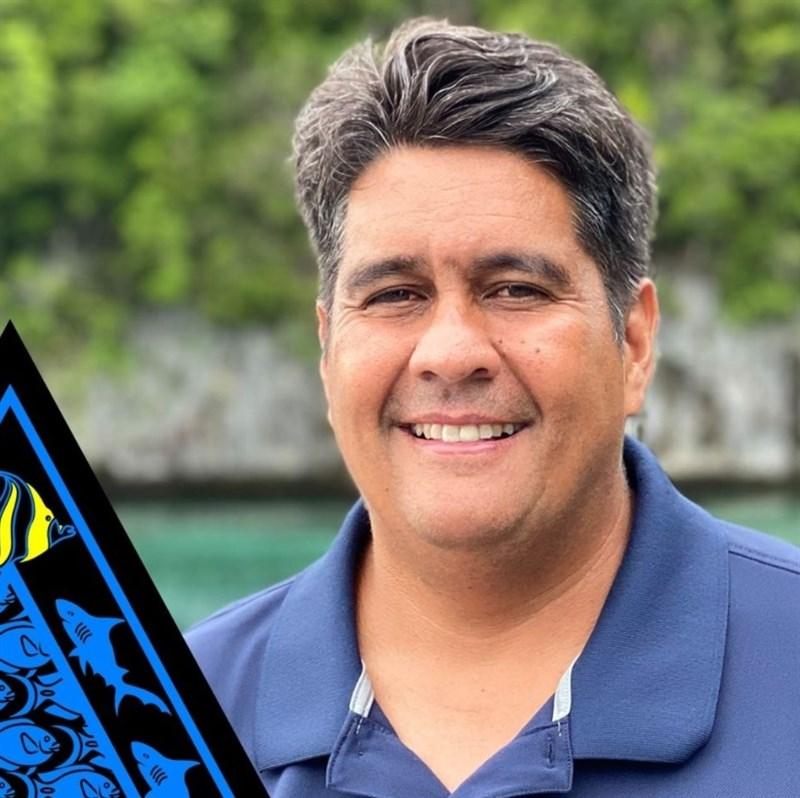 台灣友邦之一、太平洋島國帛琉的總統選舉,企業家惠恕仁可望成為新任總統,預料會保留現有包括對台友好的外交政策。(圖取自Facebook.com/surangeljr)