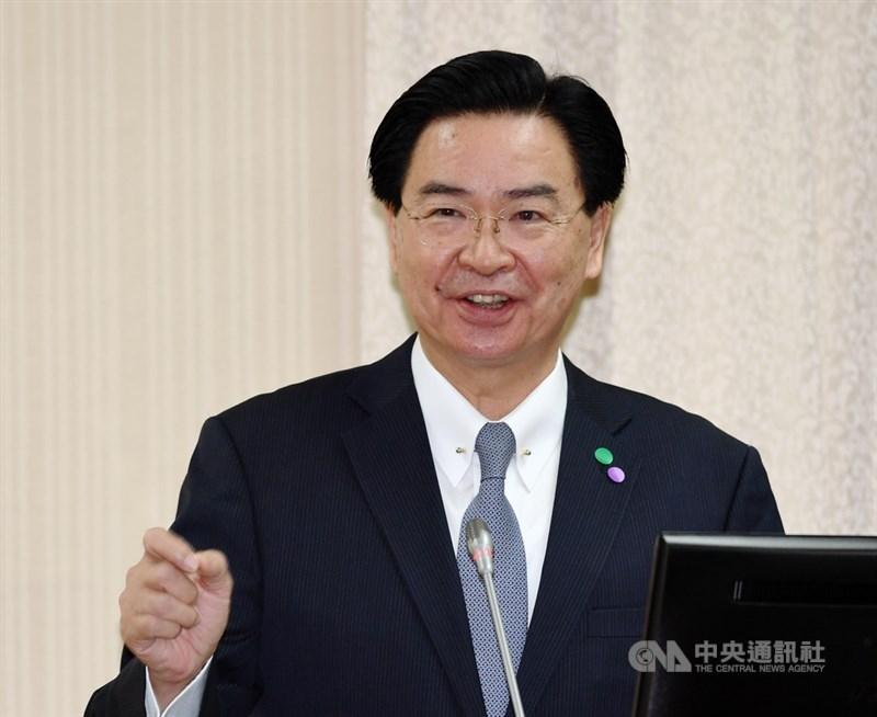 外交部長吳釗燮12日說,透過「美台經濟繁榮夥伴對話」,台美未來一定會有更穩固的合作基礎。(中央社檔案照片)