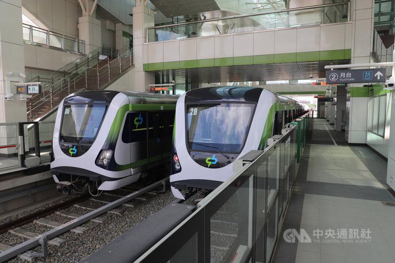 台中捷運綠線發生列車異常後暫停試營運,台中捷運公司23日指出,評估最快於30日後恢復試營運。(台中市政府提供)