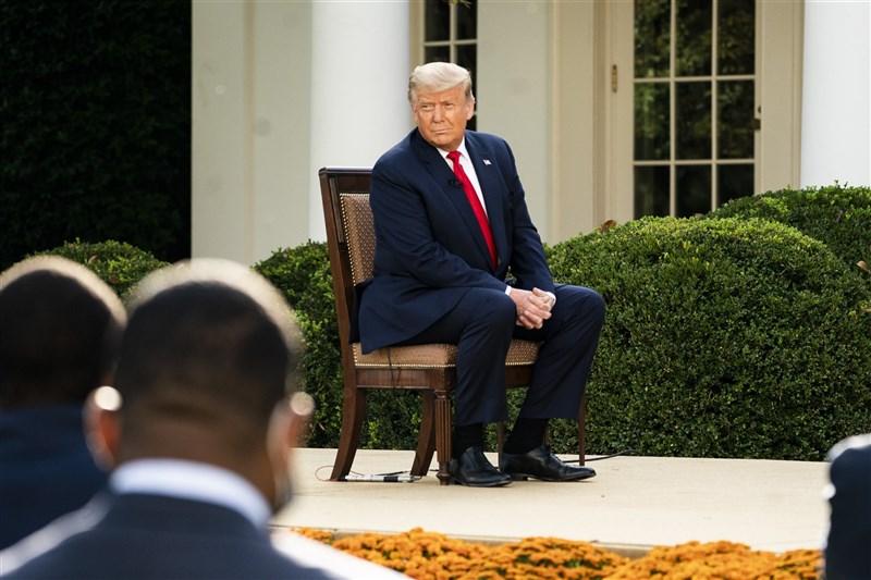 美國總統川普15日推文表示,他將向法院提出「大案件」來挑戰2020選舉結果。(圖取自Flickr,版權屬公眾領域)