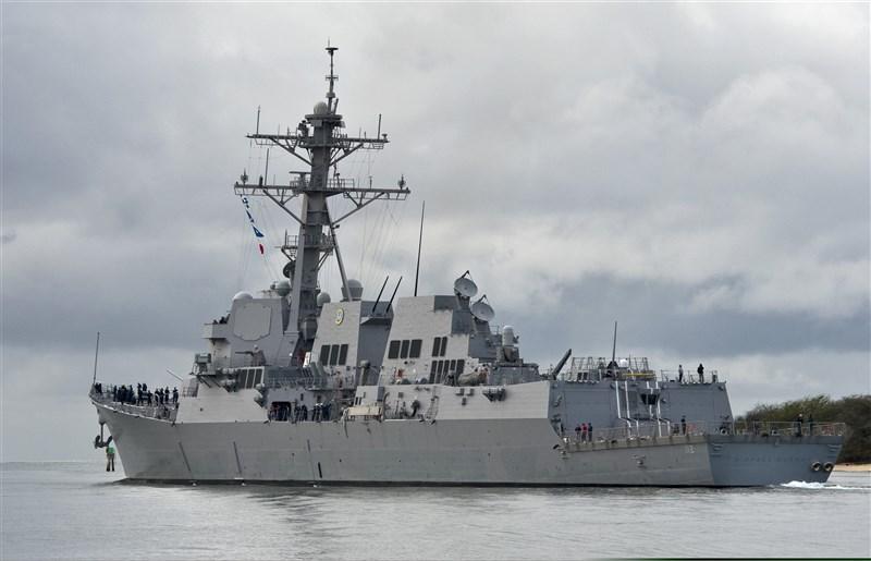CNN報導,導向飛彈驅逐艦「麥可墨菲號」(圖)發生大規模群聚感染武漢肺炎,300多人中高達近1/4染疫。(圖取自維基共享資源,版權屬公有領域)