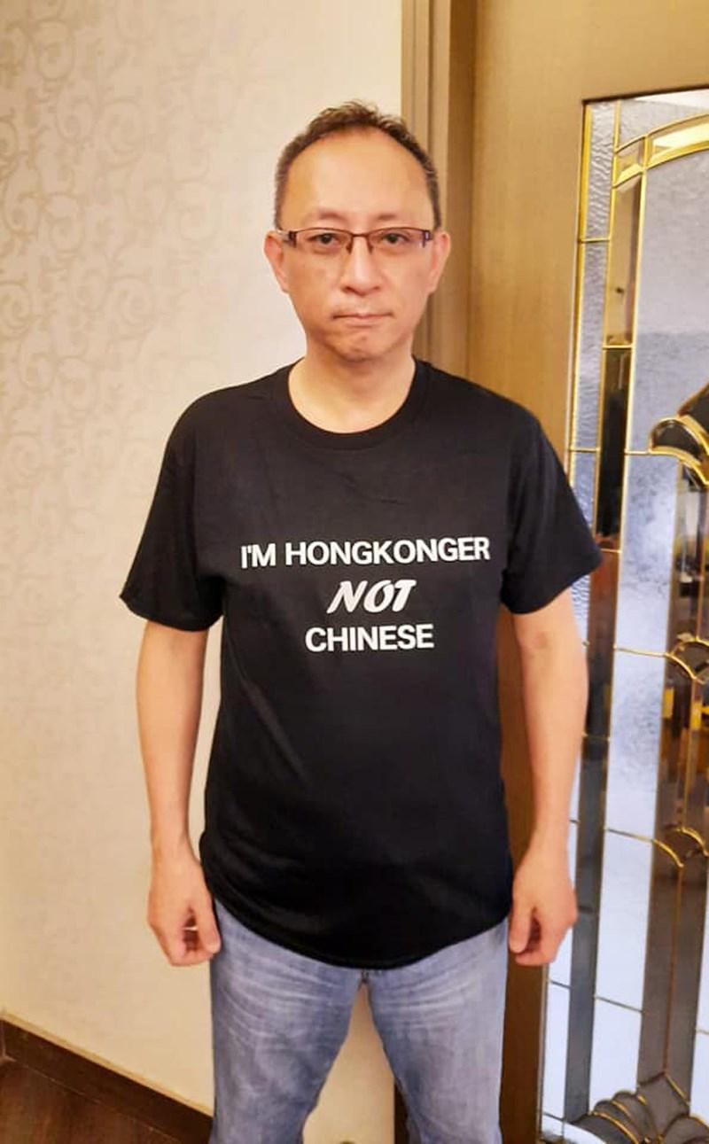 香港網路電台主持人傑斯(圖)因涉嫌違反港區國安法而被捕及扣押,法院稱他與台灣基督長老教會和民間司法改革基金會有聯繫。(圖取自facebook.com/www.giggs.hk)
