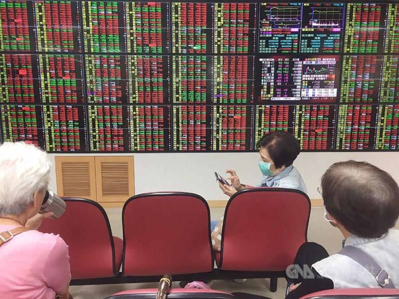 台股23日終場大漲161點,收在13878點,創歷史收盤新高。中央社記者郭日曉攝 109年11月23日