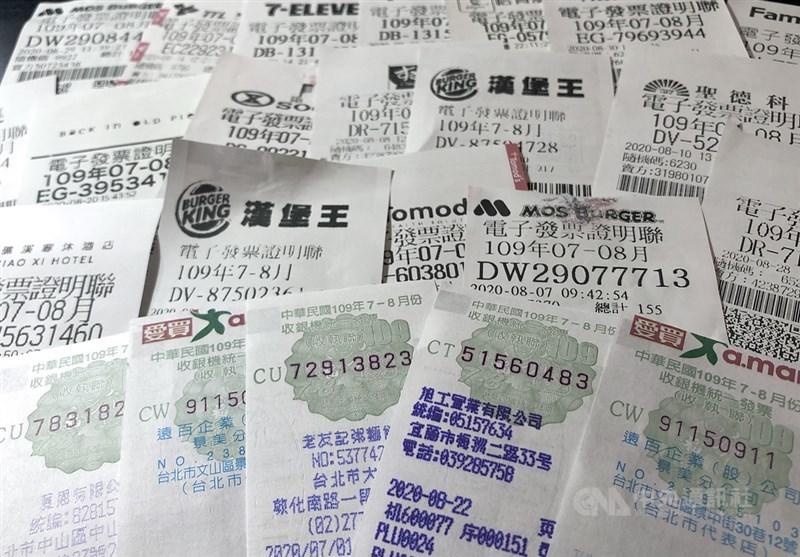 財政部提醒,7、8月期還有6張特別獎(1000萬元)及多達11張特獎(200萬元)還未領,其中有1張才花新台幣10元買茶葉蛋就中獎。(中央社檔案照片)