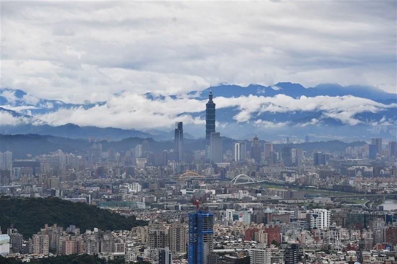 北台灣首季新建案每戶總價以台北市大安區最貴,每戶要新台幣6847.8萬元。圖為台北市一景。(中央社檔案照片)