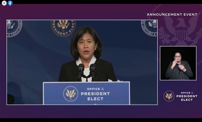 獲美國總統當選人拜登提名的戴琪(左)表示,她的雙親在中國大陸出生、在台灣長大,她自己生於美國土地上,很自豪能捍衛國家利益。(圖取自facebook.com/joebiden)