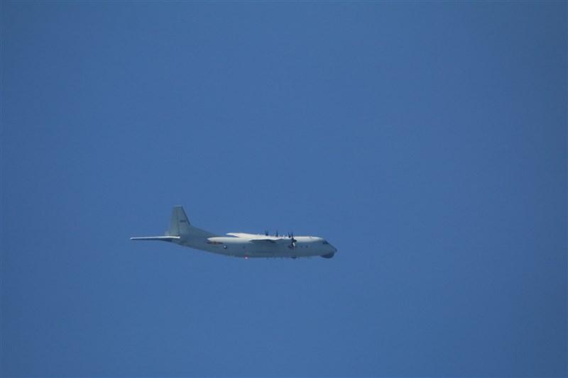 空軍15日發布共機動態,共軍1架運8反潛機、1架運8技術偵察機侵犯台灣西南防空識別區。圖為運8反潛機同型機。(圖取自國防部網頁mnd.gov.tw)
