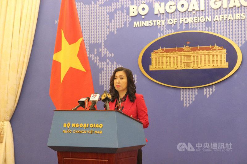 越南2020年在囚記者人數共15人,排名全球第6。越南外交部發言人黎氏秋姮(圖)17日表示,越南支持、確保新聞自由,而任何人如果違法,都須依照越南現行法律所規定的訴訟程序受審。中央社記者陳家倫河內攝 109年12月17日