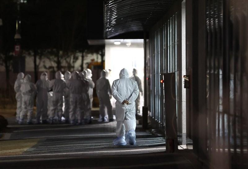 韓國武漢肺炎確診20日通報1097起病例,首爾一座監獄(圖)爆185例群聚感染。(韓聯社)