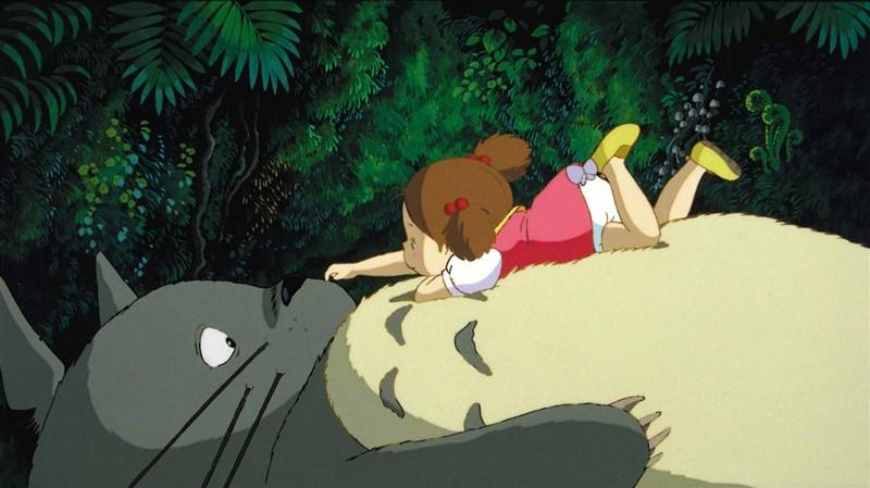 日本動畫大師宮崎駿享譽國際的動畫電影「龍貓」,過去多以影展形式與台灣觀眾見面,終於將在2021年1月29日首度躍上台灣戲院。(甲上娛樂提供)中央社記者葉冠吟傳真 109年12月24日