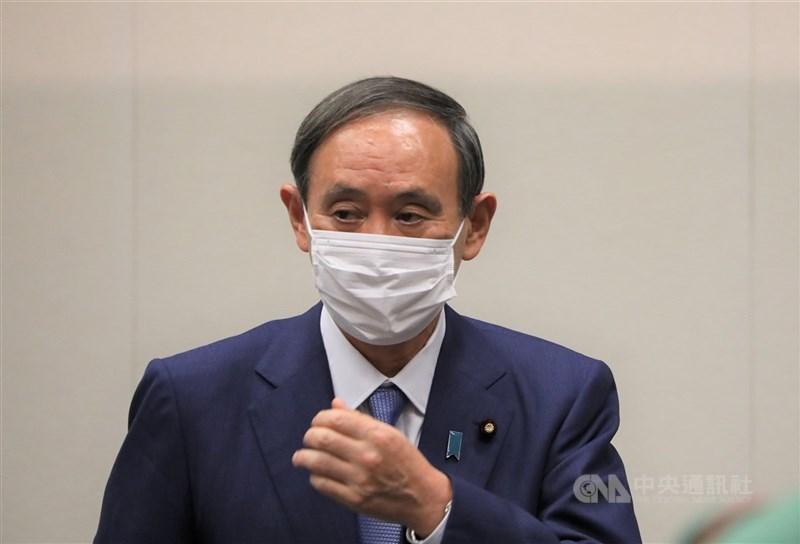 日本首相菅義偉3日談到中國有意加入跨太平洋夥伴全面進步協定(CPTPP)時說,「CPTPP的規範是非常高標準的,在目前的體制下我認為有困難」。(中央社檔案照片)
