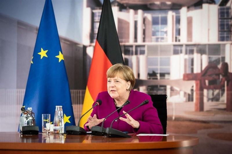 美國國會遭憤怒群眾攻佔震驚世界,梅克爾(圖)等德國政要紛紛指責川普的煽動和拒絕承認敗選是導致衝突的導火線。(圖取自instagram.com/bundeskanzlerin)
