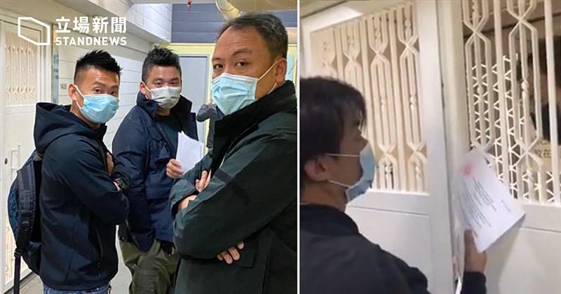 香港警方6日派人到立場新聞辦公室調查,指機構方面涉及一宗港區國安法案件,要求對方簽署文件,內容提及須在7天內交出一些文件。(圖取自立場新聞網頁thestandnews.com)