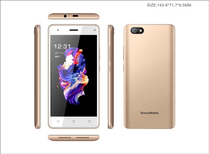台灣大哥大自有品牌AMAZING A32手機爆出資安疑慮,NCC要求台哥大擬定召回計畫外,更要訂出賠償標準,盡全力在2個月內召回手機。圖為AMAZING A32手機。(台灣大提供)