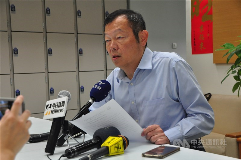 陽明交通大學新校長當選人林奇宏10日表示,當選後才是挑戰的開始,目標3、4年內進入世界大學排名前百大。(中央社檔案照片)