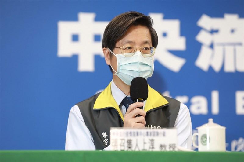 台灣出現首例南非變種病毒,指揮中心專家諮詢小組召集人張上淳13日表示,目前已知南非變種病毒的傳播能力較強,且感染者病毒量也較高。(中央流行疫情指揮中心提供)
