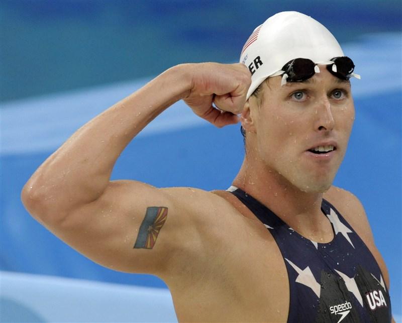 曾在奧運奪金的前美國泳將凱勒(圖),因被發現參與6日的國會大廈攻占行動,遭到美國司法部起訴。(美聯社)