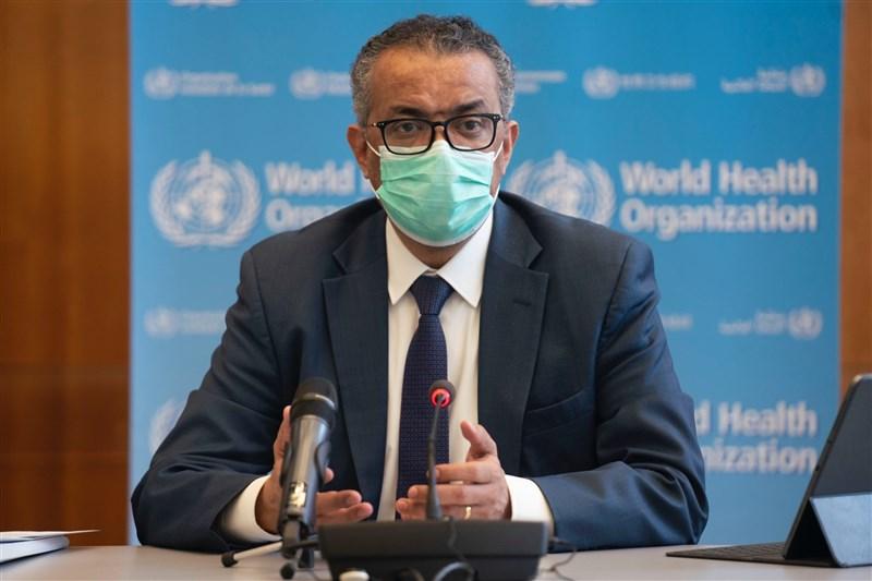 世界衛生組織18日將召開執委會,國際專家組成的獨立小組預計在會中提出的報告指出,對於世衛判斷病毒大流行能力「嚴重受限」感到震驚。圖為世衛秘書長譚德塞。(圖取自twitter.com/WHO)