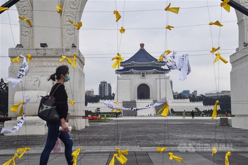 針對中正紀念堂轉型問題,文化部長李永得20日說:「如何客觀展現歷史真相,是我們的責任。」(中央社檔案照片)