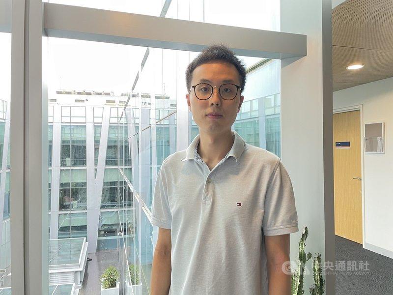 新加坡國立大學商學院管理與組織系副教授任啟智(圖)領導的研究發現,歐洲主要球賽進行的日子,台灣、新加坡平均車禍案件也比較多。中央社記者侯姿瑩攝 110年1月28日