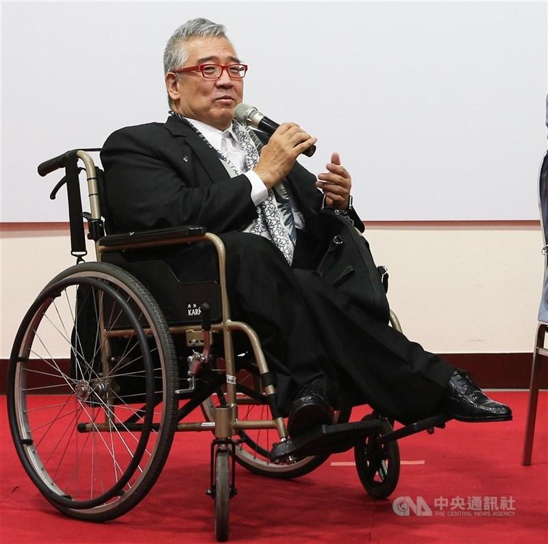 大塊文化董事長郝明義(圖)致力將台灣書籍推向國際、促進台義文化交流,獲義大利頒贈「義大利之星勳章」。(中央社檔案照片)