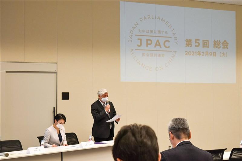 日本跨黨派「對中政策相關國會議員聯盟」9日聲明譴責中國在新疆嚴重侵害人權、對少數民族犯下「種族滅絕」及違反人道罪;聯盟主張國際社會應合作調查真相。(圖取自twitter.com/Japan_pac)