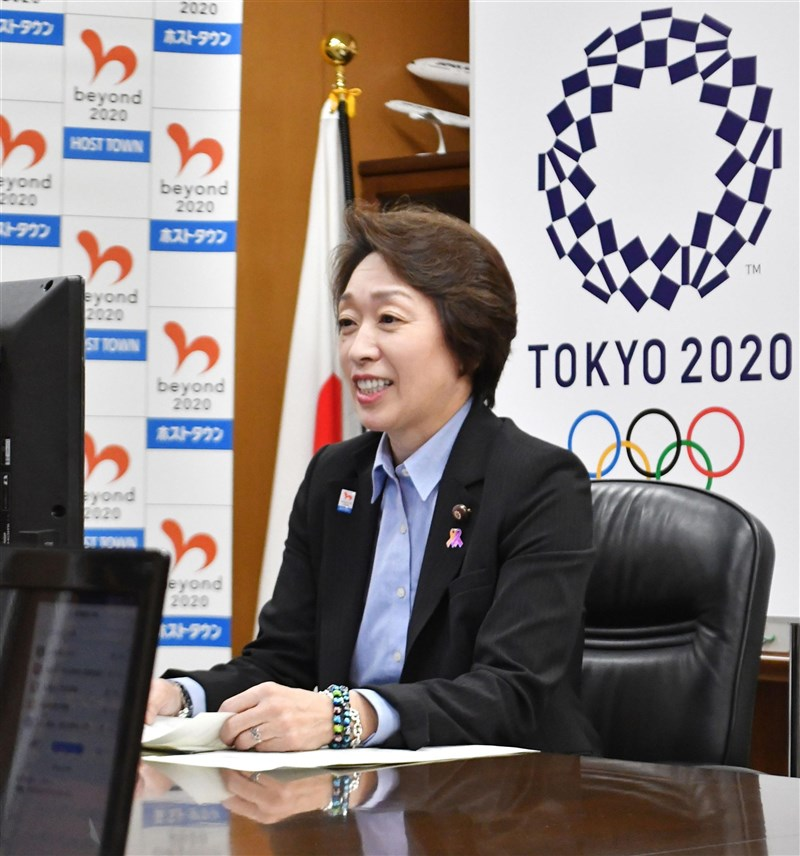 日本放送協會報導,東奧組委會主席橋本聖子已提出退黨申請。(共同社)