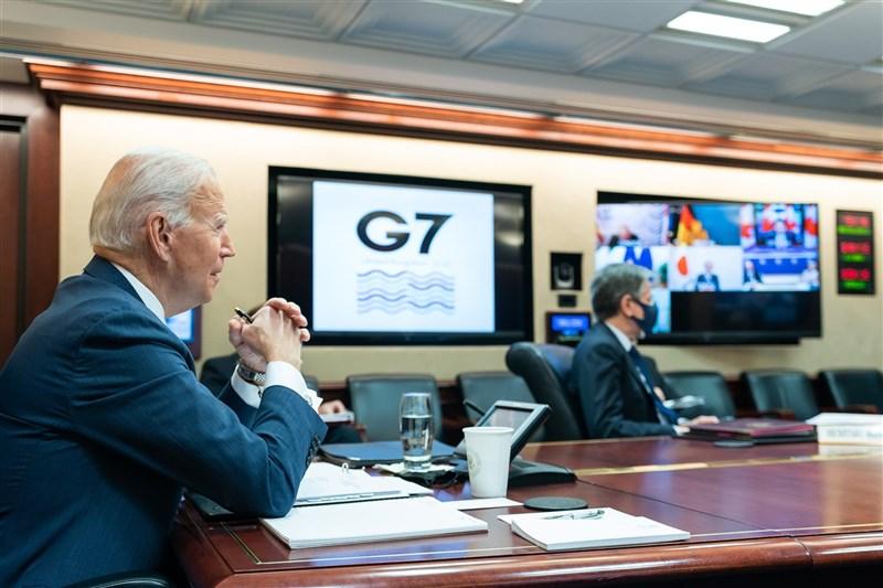 G7領袖19日舉行高峰會,同意就2019冠狀病毒疾病疫情加強合作。(圖取自facebook.com/POTUS)