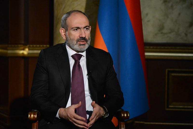 亞美尼亞軍方25日要求總理帕辛揚(圖)辭職。(圖取自亞美尼亞總理府網頁www.primeminister.am)