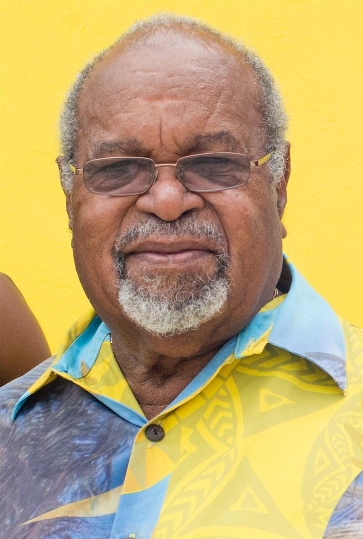 巴布亞紐幾內亞第一任總理索瑪利26日逝世,享壽84歲。(圖取自維基共享資源,作者Humans of Vanuatu,CC BY 3.0)