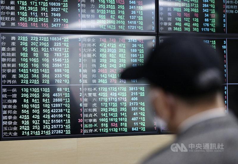 台北股市26日開低走低,收盤大跌498.38點,為15953.80點,跌幅3.03%,成交金額新台幣4321.12億元。中央社記者張皓安攝 110年2月26日