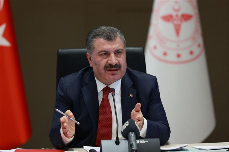 土耳其計劃5月底前對超過5000萬人進行武漢肺炎疫苗接種。衛生部長克扎(圖)25日指出,將可取得總計至少1億500萬劑疫苗。(土耳其衛生部提供)中央社記者何宏儒安卡拉傳真 110年2月26日