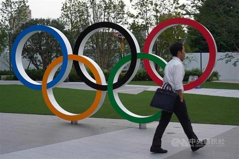 日本經濟新聞報導,參加東京奧運的外籍選手可自3月7日終止緊急事態宣言後,開始入境日本。(中央社檔案照片)