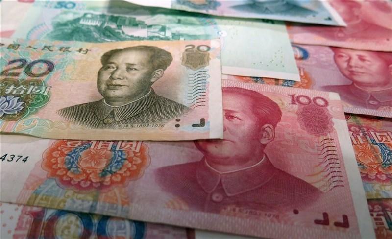 根據澳洲國立大學28日公布的統計數據,中國去年在澳洲的直接投資金額大幅萎縮近2/3,跌剩不到10億美元。圖為人民幣。(圖取自Pixabay圖庫)