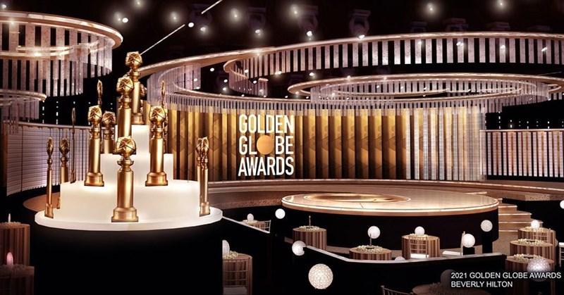 金球獎頒獎典禮以往都眾星雲集,但28日活動受COVID-19疫情影響,典禮會從紐約、加州兩個規模大為縮水的場地轉播。(圖取自instagram.com/goldenglobes)