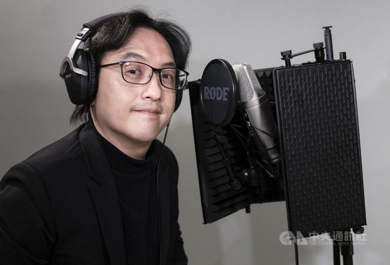 長笛家林仁斌3年前辭去大學教職,投入古典音樂推廣講座,今年開了「蹦藝術」Podcast推廣古典樂,讓聽眾感受生活中古典樂的存在。(林仁斌提供)中央社記者趙靜瑜傳真  110年3月2日