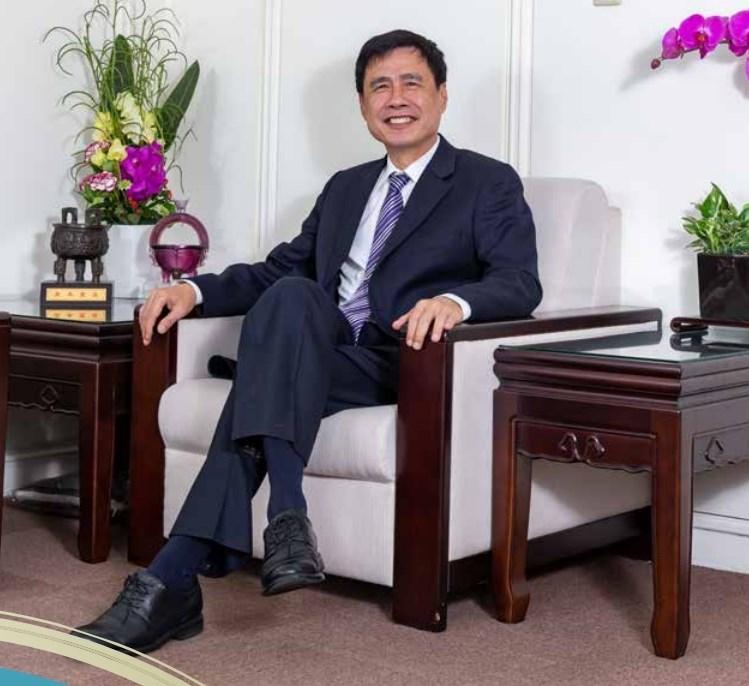 土地銀行董事長黃伯川已滿68歲,據悉,他已向財政部請辭,不再延任。(圖取自土地銀行網頁landbank.com.tw)