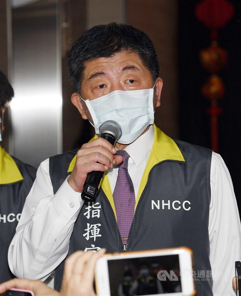 指揮中心指揮官陳時中表示,目前已知抗體、病毒能同時存在體內,是疫苗護照最大隱憂,未來擬以抗體濃度、PCR陰性作為檢疫鬆綁指標。(中央社檔案照片)