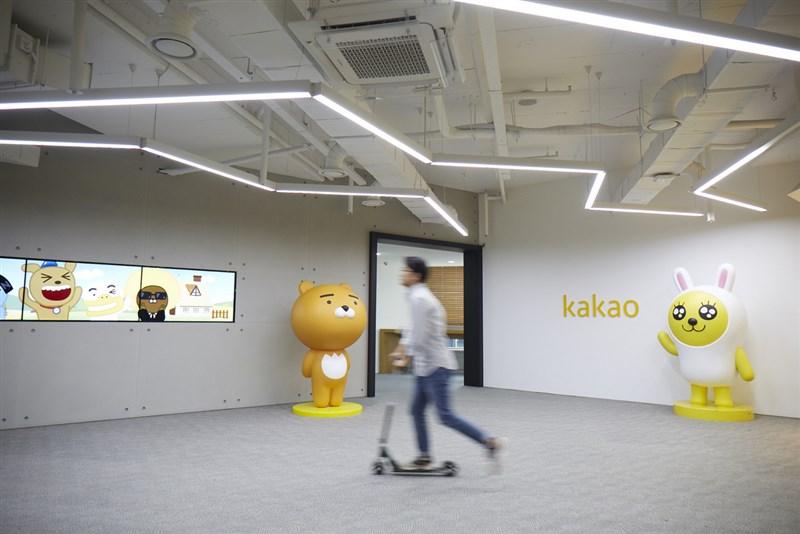韓國最大原創內容公司Kakao Page擁有8萬個作品IP,2019年創造的網漫營收高達1020億韓元。圖為Kakao集團韓國總部。(Kakao提供)中央社記者吳家豪傳真 110年3月6日