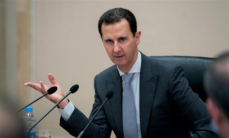 敘利亞總統府表示,總統阿塞德(圖)及他的妻子阿斯瑪確診感染2019冠狀病毒疾病。(圖取自facebook.com/SyrianPresidency)