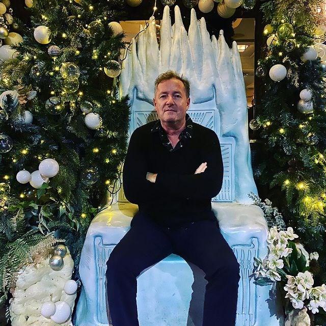 英國王子哈利和妻子梅根專訪播出後餘波盪漾,英國知名主持人皮爾斯摩根(圖)諷刺梅根的表現「可以得奧斯卡」。(圖取自instagram.com/piersmorgan)