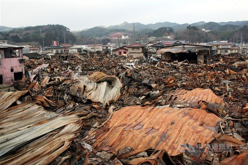 東北 震 災