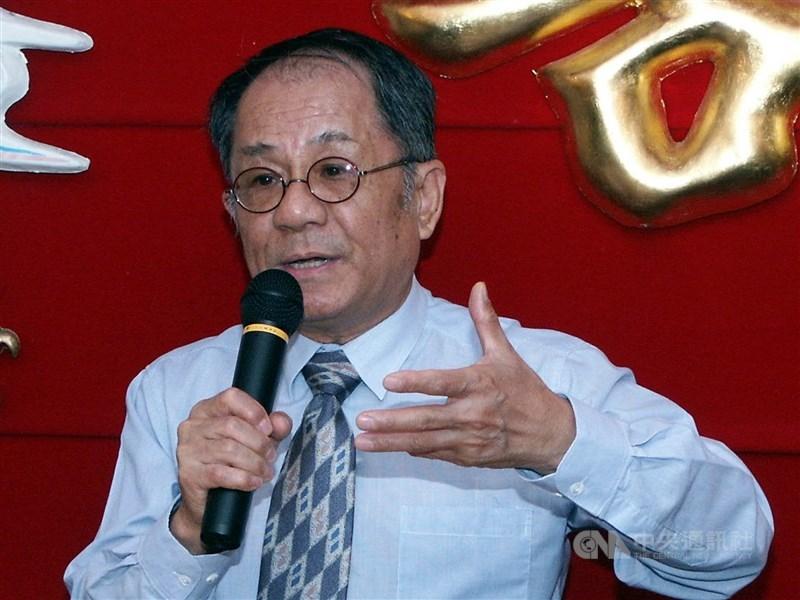 總統府前國策顧問邱垂亮因病辭世,享壽84歲。(中央社檔案照片)