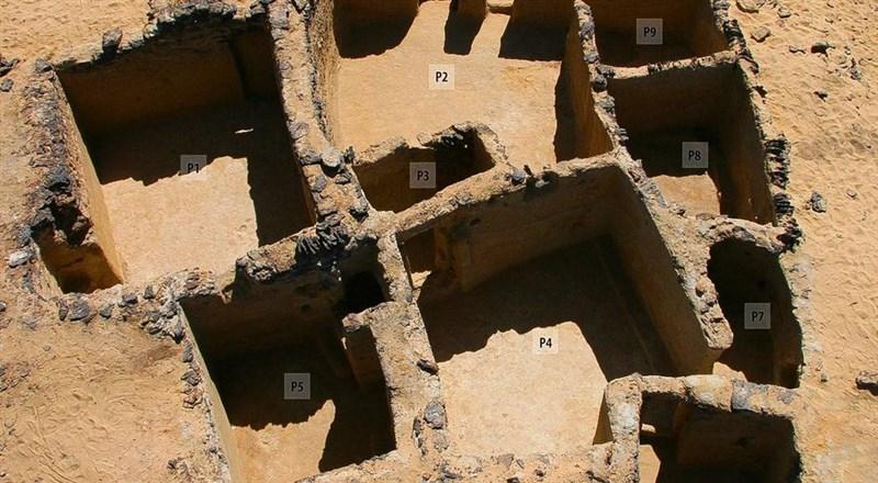 埃及古物部13日表示,法國挪威考古團隊在埃及西部沙漠發現西元5世紀的基督教遺跡。(圖取自埃及古物部網頁egymonuments.gov.eg)