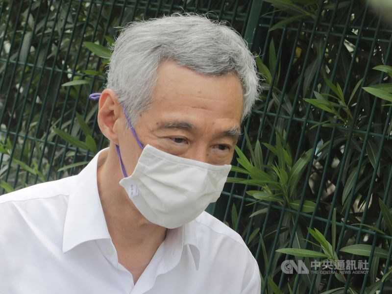 新加坡總理李顯龍表示,新加坡不可能在美中之間選邊站。(中央社檔案照片)