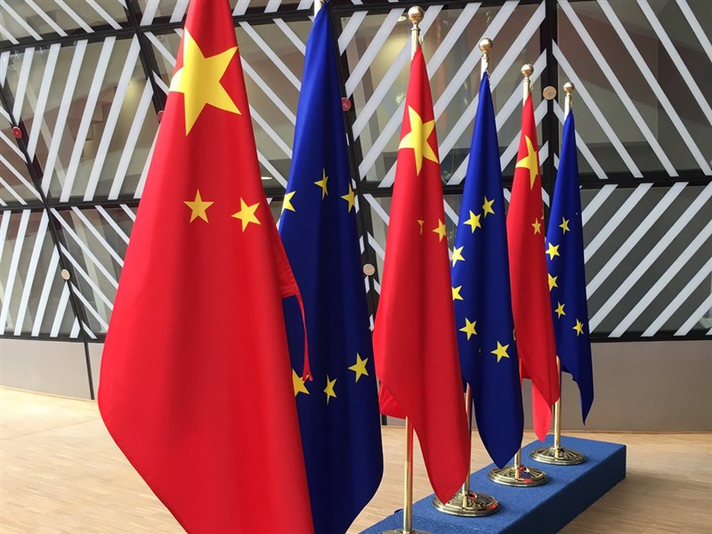 歐洲聯盟成員國大使傳17日以迫害人權為由,同意對中國官員實施制裁。(圖取自twitter.com/EU_Commission)